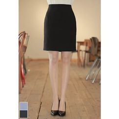 MyFiona - Zip-Back Pencil Skirt
