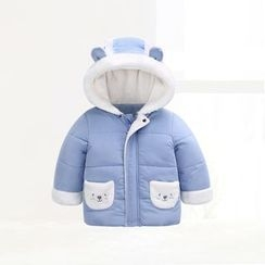 ciciibear - Kids Bear Panel Padded Coat