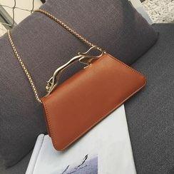 Youshine - Trapezium Chain Strap Shoulder Bag