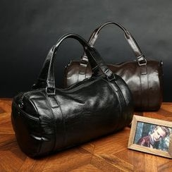 DANTEN'S - Faux Leather Duffel Bag