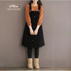 YARU - Corduroy Jumper Dress