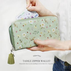 iswas - 'Willow Story' Series Tassel Zipper Wallet