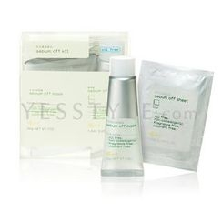 ettusais - Acne Sebum Off Kit (2 items) Mask + Acne Sebum Off Sheet