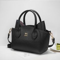 Axixi - Faux-Leather Cat Tote