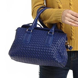 O.SA - Faux-Leather Woven Tote