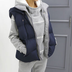 DANI LOVE - Hooded Padded Vest