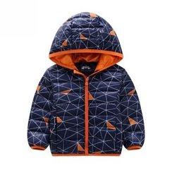 Endymion - Kids Printed Hooded Down Coat