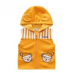 Endymion - Kids Striped Panel Hooded Vest