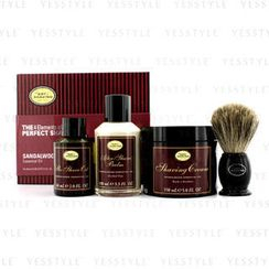 The Art Of Shaving - The 4 Elements Of The Perfect Shave - Sandalwood (Pre Shave Oil + Shave Crm + A/S Balm + Brush)