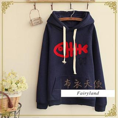 Fairyland - Embroidered Fishbone Hoodie