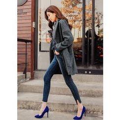 J-ANN - Slit-Side Skinny Jeans