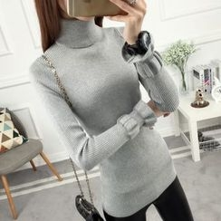anzoveve - Turtleneck Sweater