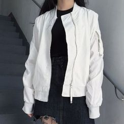 Dasim - Plain Zip Jacket