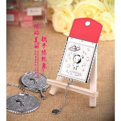 MILESI - Bear Pocket Mirror with Case