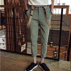JUN.LEE - Detachable Jumper Capri Pants