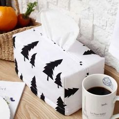 iswas - 樹木印花衛生紙罩