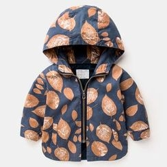 Kido - Kids Print Hooded Jacket