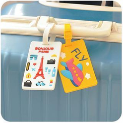 Momoi - Printed Luggage Tag