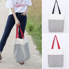 Clair Fashion - Striped Tote Bag