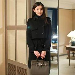 St. Mary - Set: Trench Jacket + Sleeveless Coatdress