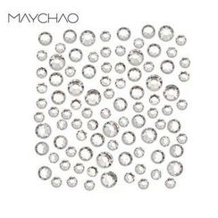 Maychao - 3D Nail Art Rhinestones (3.9mm) (SS16) (30 pcs)
