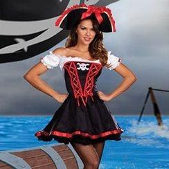 Cosgirl - 加勒比海盜派對服飾