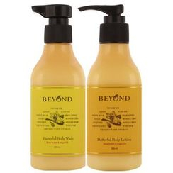 BEYOND - Butterful Body Set : Wash 250ml + Lotion 200ml