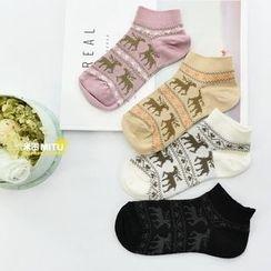 MITU - Cartoon Short Socks