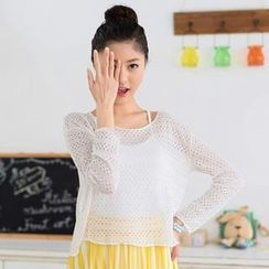 59 Seconds - Open Knit Top