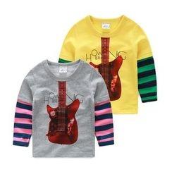 WellKids - Kids Printed Panel T-Shirt