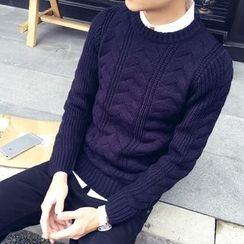JVR - Cable-Knit Sweater