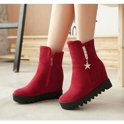 Pastel Pairs - 内增高及踝靴