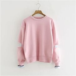 Storyland - Slit-Elbow Sweater