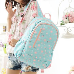 Canvas Love - Floral Print Backpack