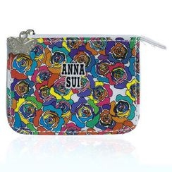 Anna Sui - Multicolor Rose Print Coin Purse (Small)