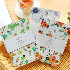 MissYou - Floral Print Notebook (S)
