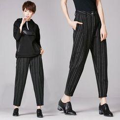 Shawale - Striped Harem Pants