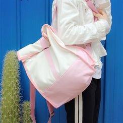 Bolso - 雙色帆布背包