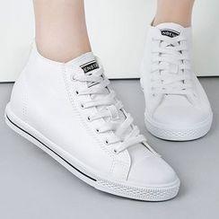 Renben - Plain High-top Sneakers