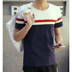 Fisen - Color Block T-Shirt