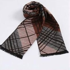Rita Zita - Fray Patterned Scarf