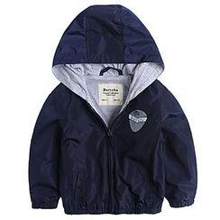 Happy Go Lucky - Kids Hooded Jacket