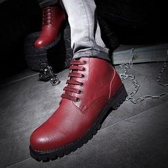 Hipsteria - 真皮系带短靴