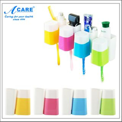 Acare - Toothbrush Holder With Cup