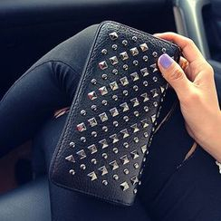 Youme - Studded Zip Wallet