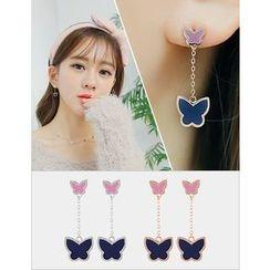 soo n soo - Butterfly Dangle Earrings