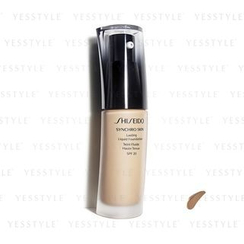Shiseido 资生堂 - Synchro Skin Lasting Liquid Foundation SPF 20 (Neutral 4)