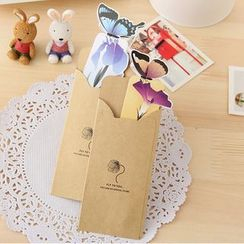 Paper Plane - Butterfly Bookmark