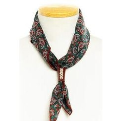 HOTBOOM - Paisley Print Scarf