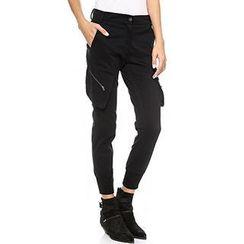 Richcoco - 双口袋修身裤